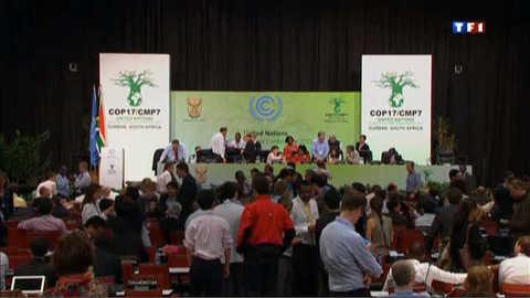 Climat : Durban accouche d'un accord dans la douleur