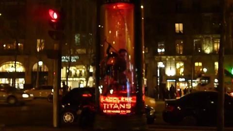 La Colère des Titans s'est attaquée à une colonne Morris