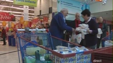La collecte de la Banque Alimentaire à débutée (Gard)
