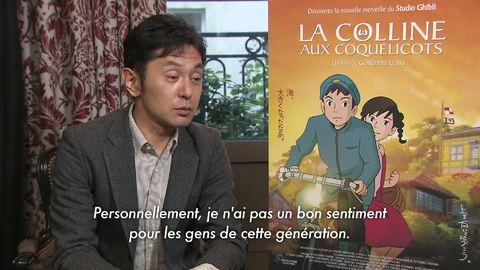 La Colline aux Coquelicots - Featurette : Présentation de Goro Miyazak numéro 2 - vostfr