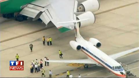 Collision sur le tarmac de l'aéroport de Chicago