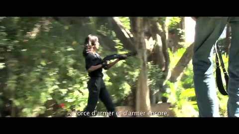 COLOMBIANA Making-of (Zoe Saldana)