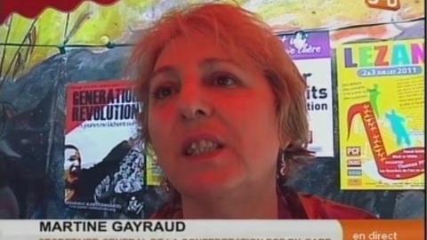 Les communistes choisissent Jean-Luc Mélenchon (Gard)