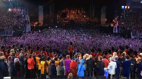 Un concert mémorable pour le jubilé de la Reine