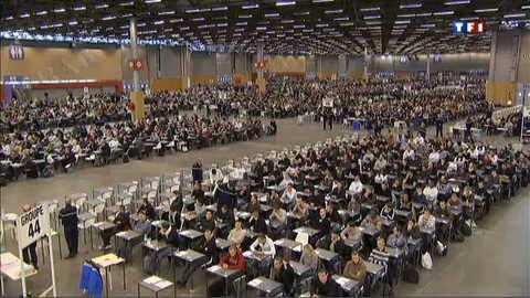 Concours de la gendarmerie : plus de 10.000 candidats au rendez-vous