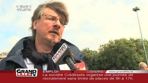 Conférence Sociale : La CGT se mobilise à Lille