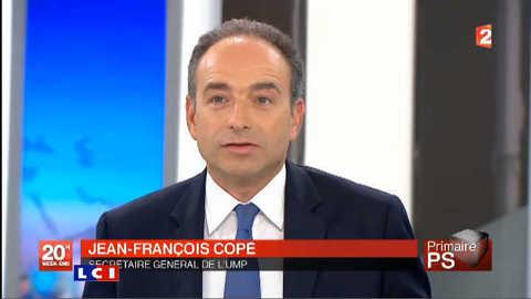"""Copé : """"la victoire de Hollande, un faux-suspense"""""""
