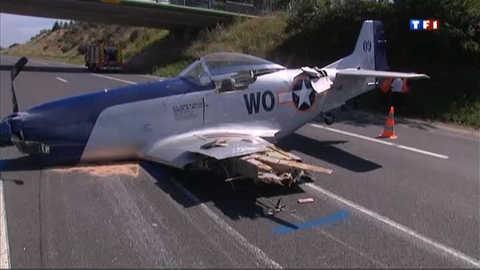 Corrèze : un avion atterrit... sur l'autoroute