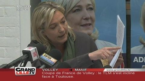 Corruption : Marine Le Pen s'attaque au PS du Pas de Calais !
