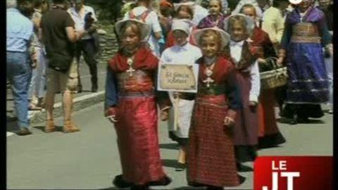 Les costumes à l'ancienne à l'honneur à Lanslebourg