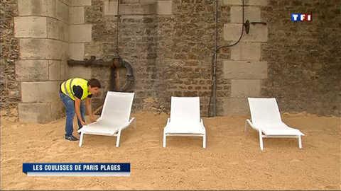 Les coulisses de Paris-Plages