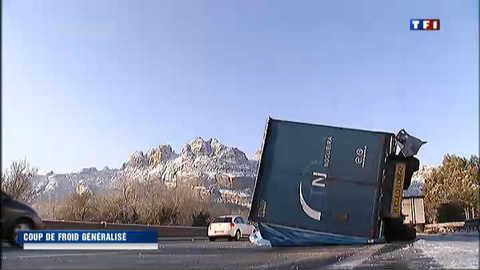 Coup de froid généralisé sur la France