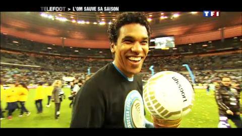 Coupe de la Ligue : l'OM sauve sa saison (15/04/2012)