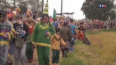 """Le """"courir du Mardi gras"""", une tradition en Louisiane"""