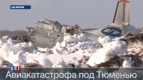 Crash d'un avion en Sibérie