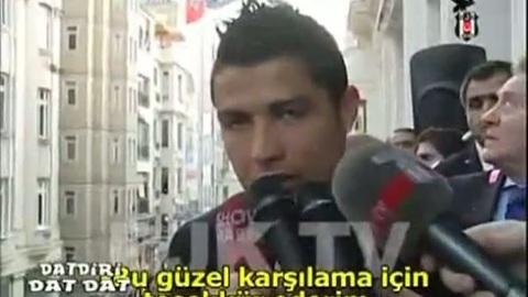 Cristiano Ronaldo  provoque une émeute à Istanbul