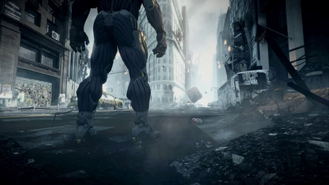 Crysis 2 - The Wall trailer making of : music