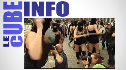 Cube info du 4 juin : des féministes ukrainiennes culottées
