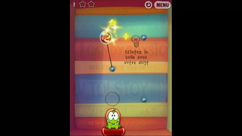 Cut the Rope: Experiments HD - Gameplay - iOS