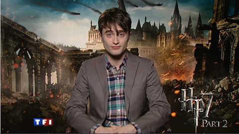 """Daniel Radcliffe au 20h : la fin de Harry Potter, un sentiment """"doux-amer"""""""