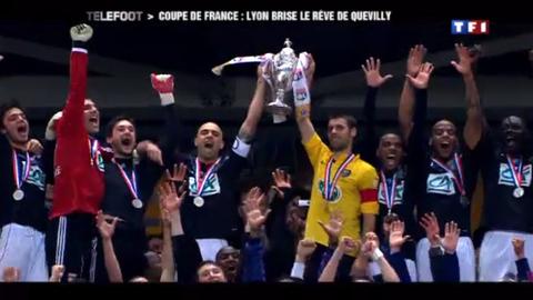 Dans les coulisses de la finale de la Coupe de France (29/04/2012)