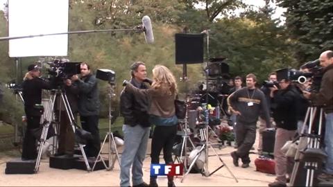 Dans les coulisses du premier jour de tournage à Paris