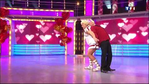 La danse de la Saint-Valentin : le slow de Lagaf et Gérard Vivès