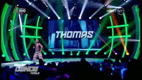 Danse solo de Thomas sur les Black Eyes Peas