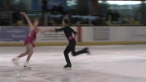 Danse sur glace: L'OCDV se développe (Viry-Châtillon)