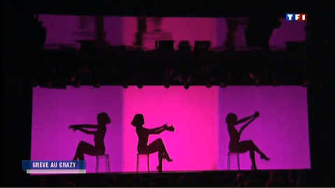 Les danseuses du Crazy Horse en grève