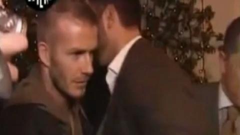 David Beckham est il bien membré?