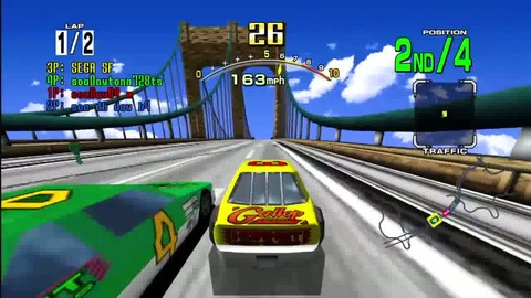Daytona USA - Announcement Trailer - FR - PS3 Xbox360