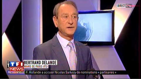 """Débat Hollande/Sarkozy : """"un bon moment de démocratie"""" dit Delanoë"""