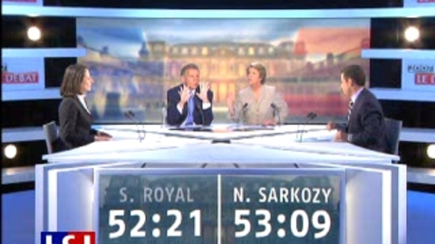 Débat Royal-sarkozy : la colère de Royal