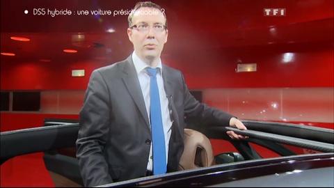 Découverte : la Citroën DS5 de François Hollande (20/05/2012)