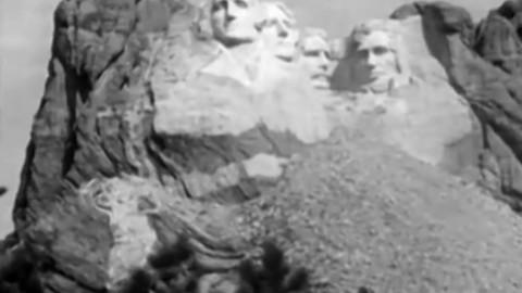 Découvrez la construction du Mont Rushmore en vidéo