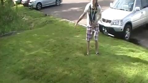 Découvrez la pelouse mouvante