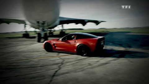 Défi 300 km/h - Bonus Web : Session drift en Corvette ZR1