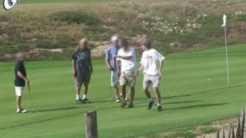 DEFI s'incruster pendant une compétition de golf
