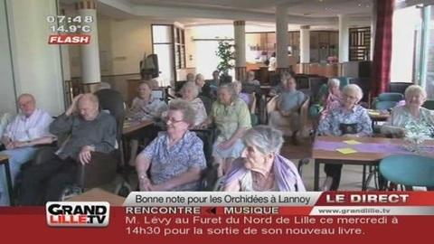 """Dépendance: La maison de retraite """"Les Orchidées"""" primée (Lannoy)"""