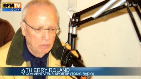 La dernière radio de Thierry Roland