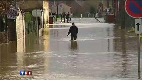 Dernières images des inondations dans le Pas-de-Calais