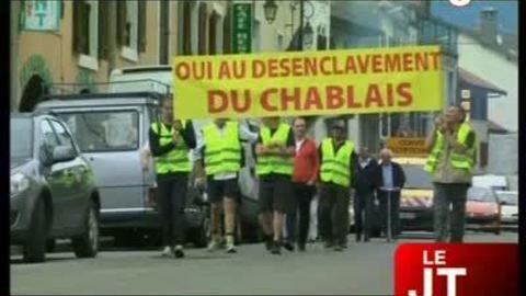 Désenclavement du Chablais : une marche pour dire « oui »