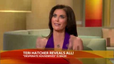 Desperate Housewives - Teri Hatcher parle de son strip-tease dans Good Morning America