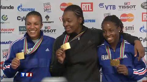 Deux Françaises en or aux Championnats du monde de judo