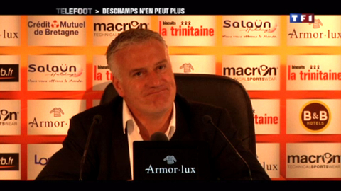 Didier Deschamps : «J'essaye de garder mon calme » (29/04/2012)