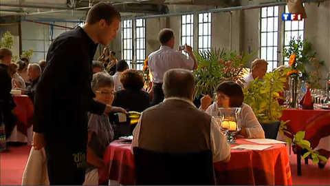 Diner insolite dans une ancienne papeterie