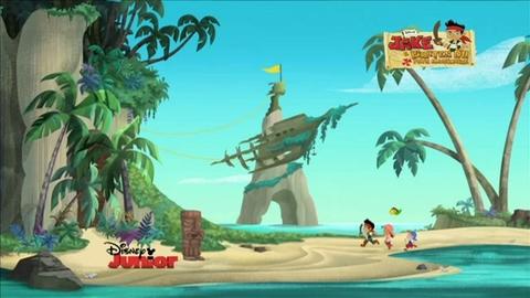 Disney Junior - Les premières minutes de Jake et les Pirates du Pays Imaginaire !