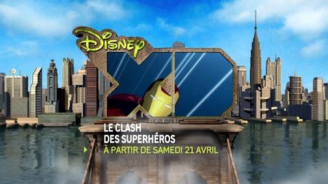 Disney XD - Plan Super Héros - dès samedi 21 avril