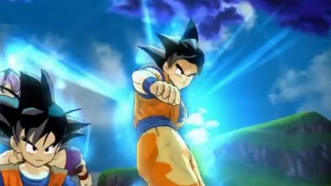 Dragon Ball Z Infinite World - Introduction - PS2